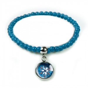 Blue Folk bransoletka