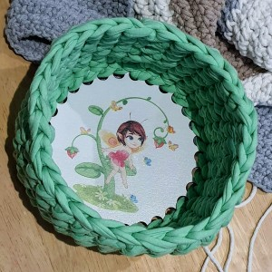 Kosz ze sznurka Elfka