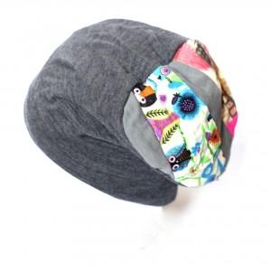 czapka damska dzianinowa
