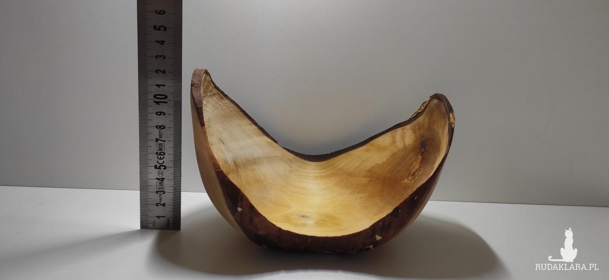 Półmisek z drewna brzozowego