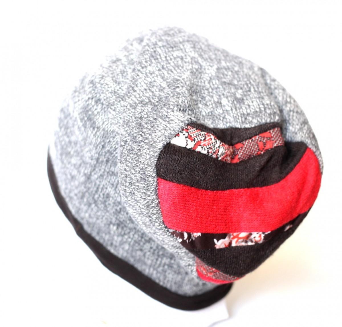 czapka wełniana ciepła damska