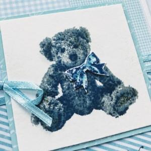 028,Kartka z misiem Teddy