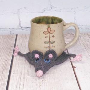 Szczurek-  podkładka pod kubek