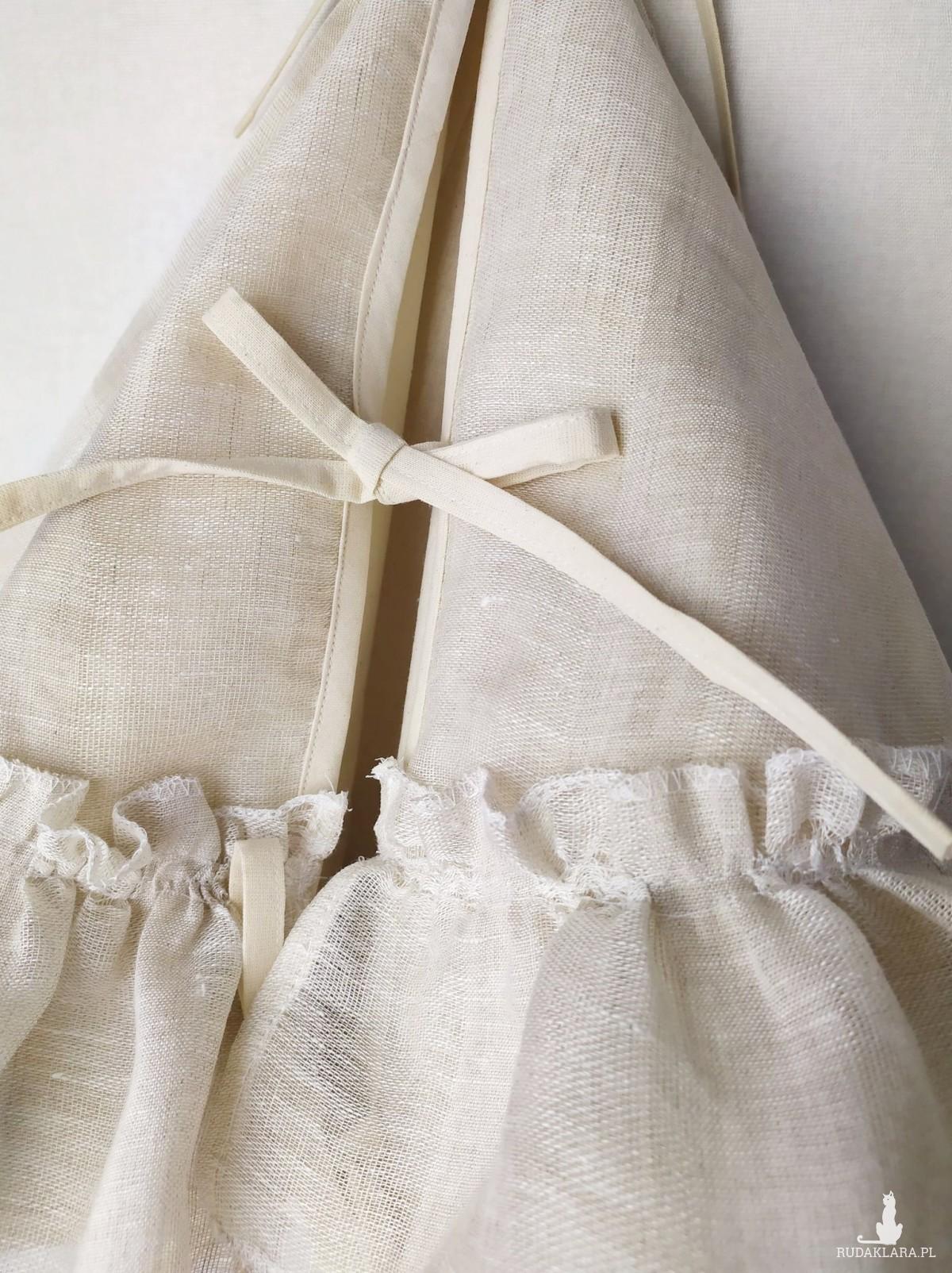 Dywanik, spódnica pod choinkę-styl skandynawski