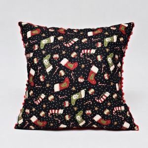 Poduszka świąteczna, ozdoba na święta poduszka na święta z wypełnieniem skarpety