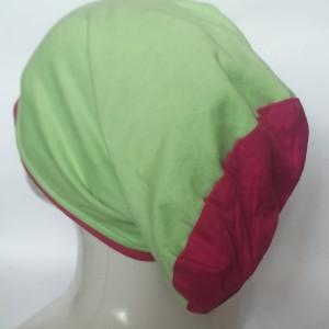 czapka wełniana  handmade zimowa