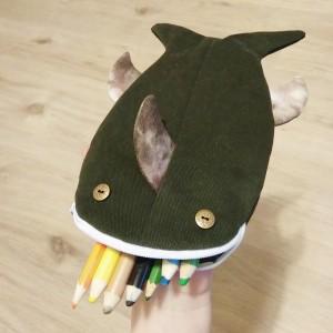 Piórnik rekin ryba zielony
