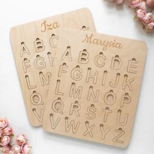 Układanka alfabet