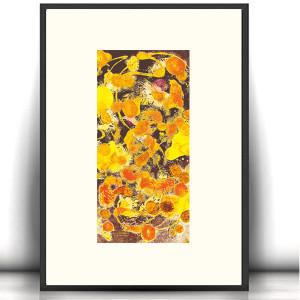 rysunek z kotkiem, kotek grafika na ścianę, obraz z kotem