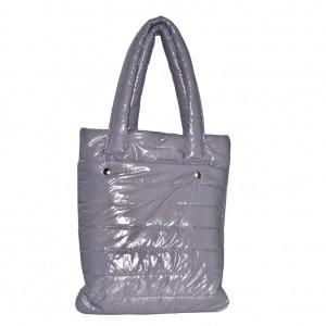 Pikowana torba shopper gold