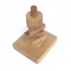Nakręcanka drewniana