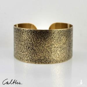 Piasek- mosiężna bransoleta 130301-03