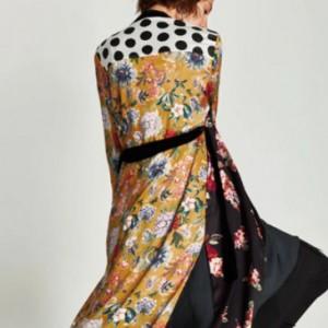 narzutka kimono rozmiar M grochy