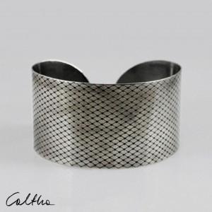 Rybia łuska - metalowa bransoletka 130523-06