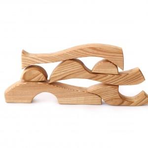 układanka puzzle, Montessori