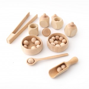 mini szkatułki, Montessori, taca edukacyjna