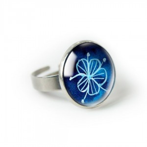 Blues pierścionek