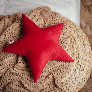 poduszka gwiazdka czerwona