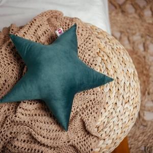 poduszka gwiazdka zielona