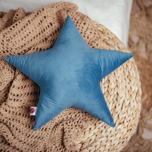 poduszka gwiazdka turkusowa