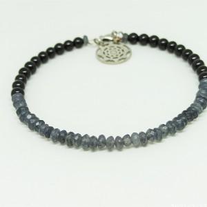 GREY - bransoletka z kamieni naturalnych