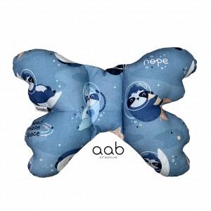 Motylek poduszka antywstrząsowa Leniwce w kosmosie(400468)