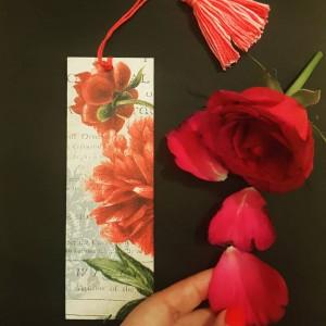 Zakładka do książki Red Flower