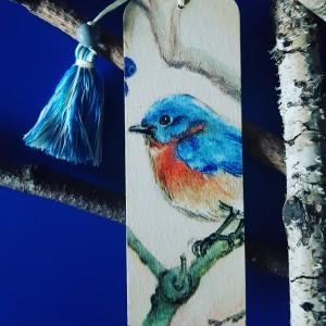 Zakładka do książki Bird