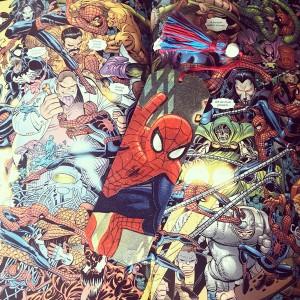 Zakładka do książki Spiderman