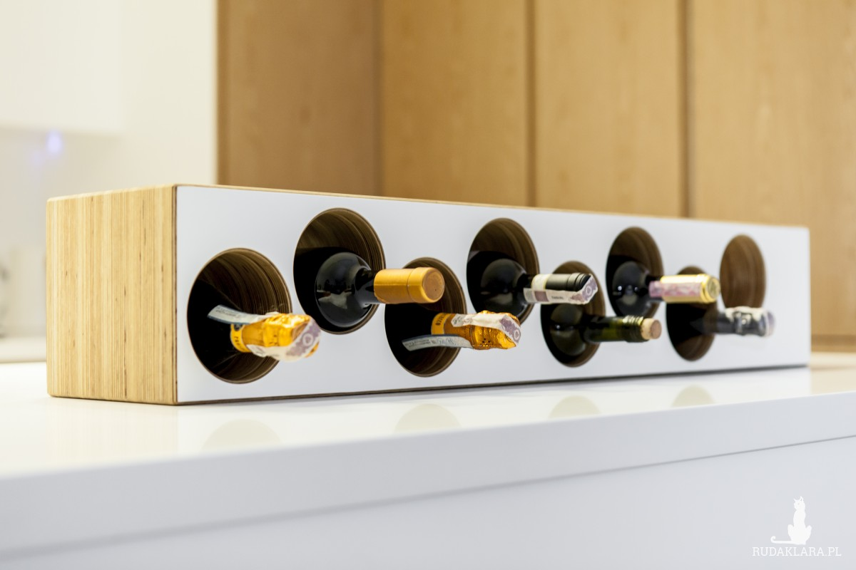 Stojak na wino Audiofil