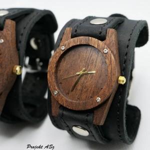 Zegarek drewniany damski Egzotyk
