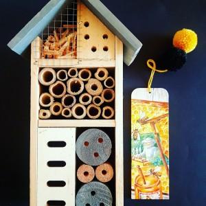 Zakładka do książki Pszczółka