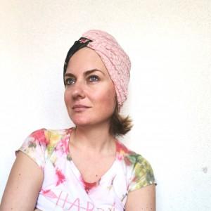czapka turbanowa etno boho