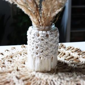 Lampion, wazon makrama