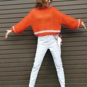 Sweter PRIMAVERA w kolorze orange