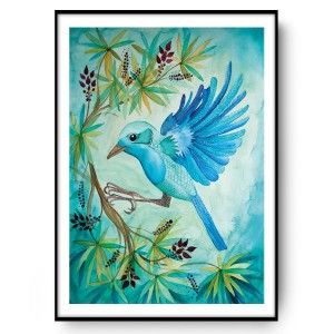 Jungle bird 50x70