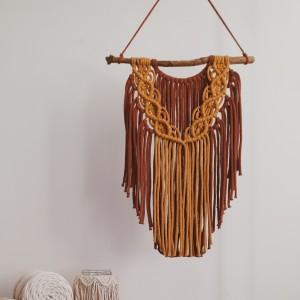 Makrama, Å›cienna dekoracja