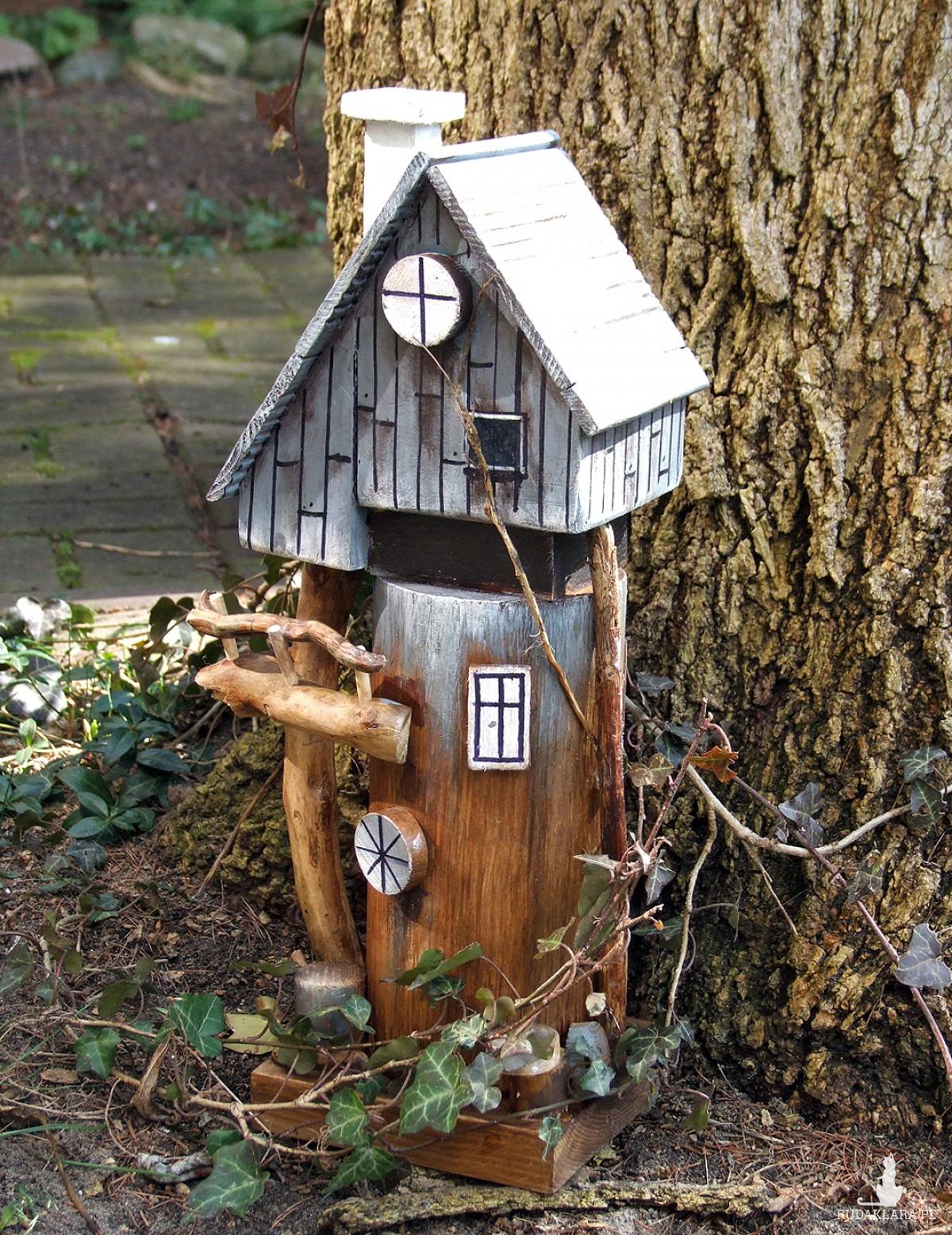 Leśna chatka - dekoracja do domu i do ogrodu