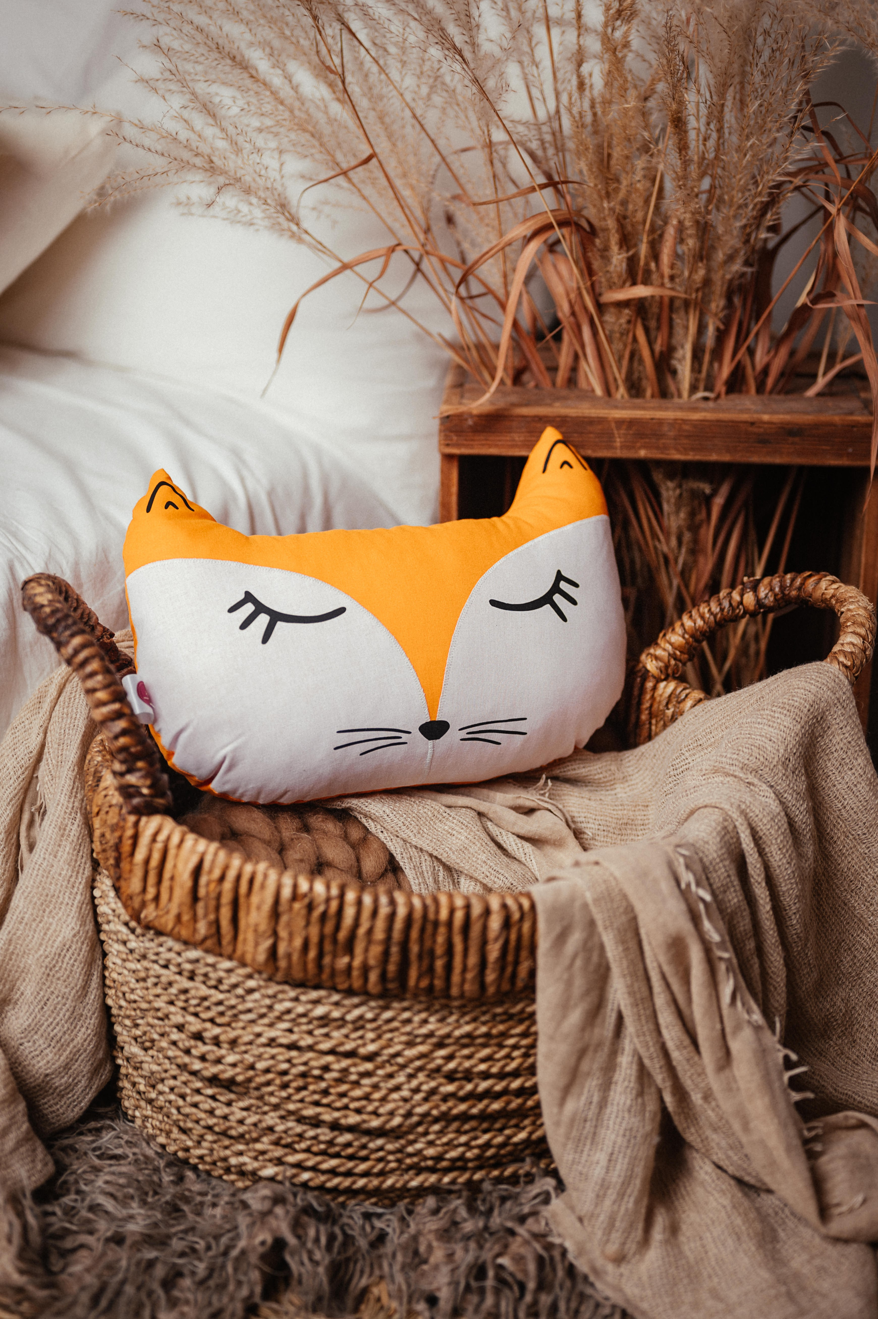 poduszka leśna lis