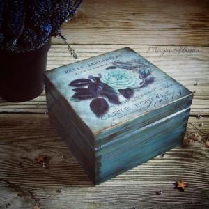 Pudełko na biżuterię lub inne drobiazgi