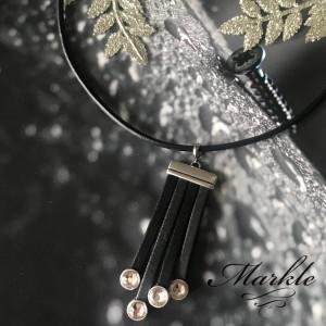 Naszyjnik z kolekcji black and shine