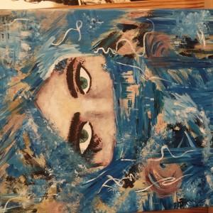 """Obraz, """"The eyes"""""""