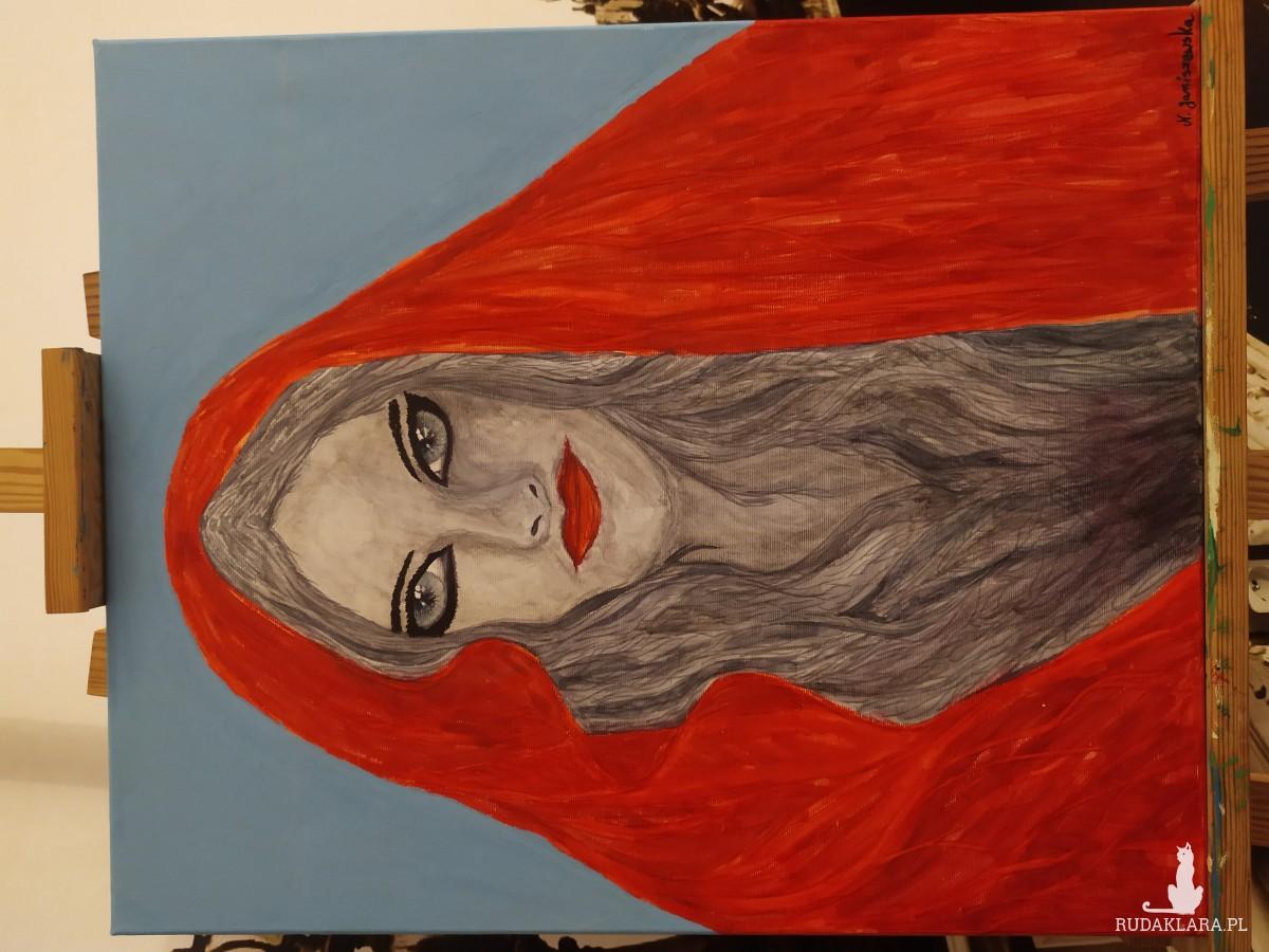 "Obraz ""Red Hood"""
