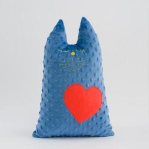 Maskocio  PET Niebieski z Serduszkiem