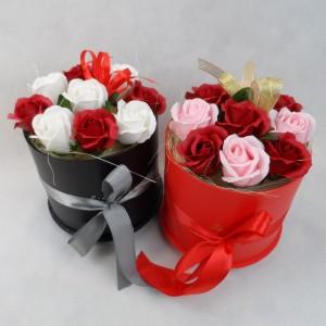 Kwiaty róże mydlane