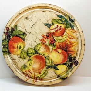 083,Obraz na desce - owoce