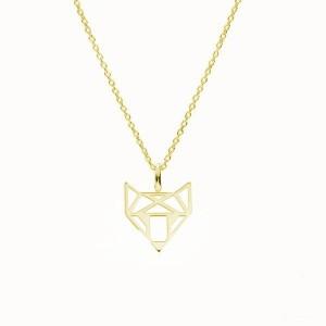 FOXY - srebro złocone