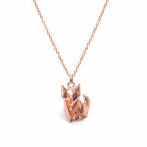 FOX/ CAT- różowe złoto