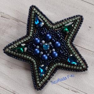 Broszka gwiazdka