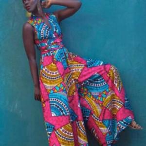 kombinezon kolorowy afrykański  M